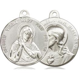 Blessed Virgin<br>Sacred Heart of Jesus<br>37-164/117 - 1 x 1 1/8