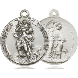 Saint Christopher<br>Guardian Angel<br>37-179/105 - 1 x 1 1/8