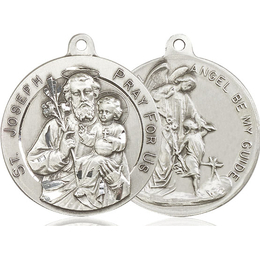 Saint Joseph<br>Guardian Angel<br>39-106/105 - 1 1/8 x 1 1/4