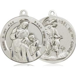 Saint Ann<br>Guardian Angel<br>39-113/105 - 1 1/8 x 1 1/4