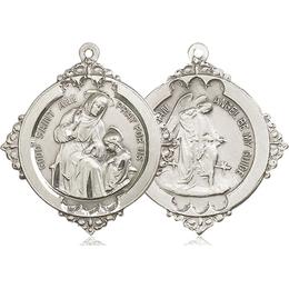 Saint Ann<br>Guardian Angel<br>41-113/105 - 1 1/8 x 1 1/4