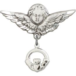Claddagh<br>Baby Badge - 4113/0733