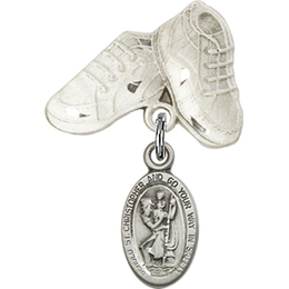 St Christopher<br>Baby Badge - 4121C/5923