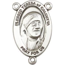 Saint Teresa of Calcutta<br>4123TCCTR - 7/8 x 1/2<br>Rosary Center