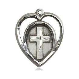 Heart Cross<br>4132 - 5/8 x 1/2