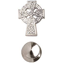 Celtic Cross<br>4133L - 1/2 x 3/8<br>Lapel Pin