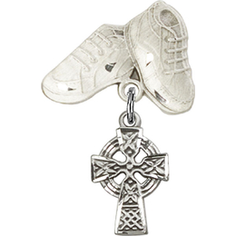 Celtic Cross<br>Baby Badge - 4133/5923