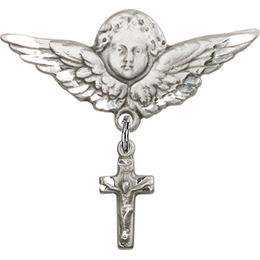 Crucifix<br>Baby Badge - 4134/0733