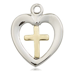 Heart Cross<br>4247 - 5/8 x 1/2