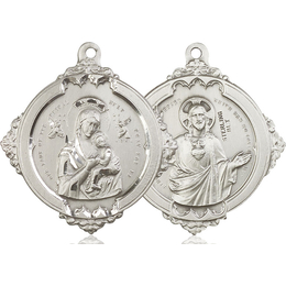 Our Lady Perpetual Help<br>Sacred Heart of Jesus<br>43-101/117 - 1 5/8 x 1 3/4