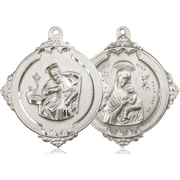 Saint Alphonsus<br>Our Lady Perpetual Help<br>43-102/101 - 1 5/8 x 1 3/4