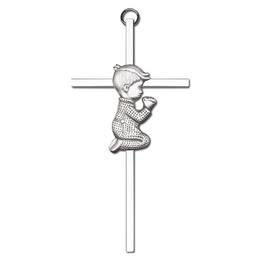 Praying Boy<br>4660 - 6 x 3<br>Wall Cross