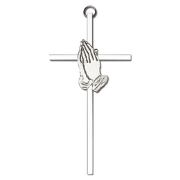 Praying Hands<br>4691 - 6 x 3<br>Wall Cross