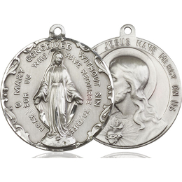 Immaculate Conception<br>Sacred Heart of Jesus<br>50-100/117 - 1 1/2 x 1 1/2