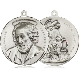 Saint Joseph<br>Guardian Angel<br>50-106A/105 - 1 1/2 x 1 1/2