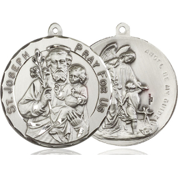 Saint Joseph<br>Guardian Angel<br>50-106/105 - 1 1/2 x 1 1/2