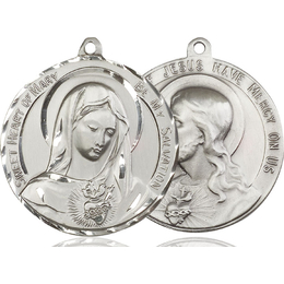 Immaculate Heart of Mary<br>50-109/117 - 1 1/2 x 1 5/8