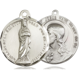 Our Lady of Lasalette<br>Sacred Heart of Jesus<br>50-188/117 - 1 1/2 x 1 1/2