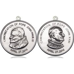 Saint John Paul II<br>Saint John XXIII<br>50-194/195 - 1 1/2 x 1 1/2