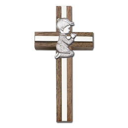 Praying Boy<br>5012 - 4 x 2<br>Wall Cross