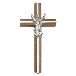 Contemporary Risen Christ<br>5030 - 6 x 3<br>Wall Cross