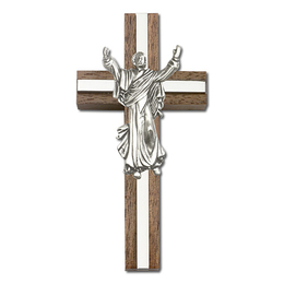 Contemporary Risen Christ<br>5031 - 4 x 2<br>Wall Cross