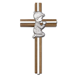 Praying Boy<br>5065 - 6 x 3<br>Wall Cross