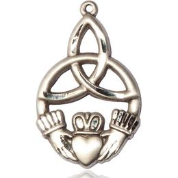 Irish Knot Claddagh<br>5102 - 1 1/4 X 3/4