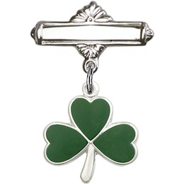 Shamrock<br>Baby Badge - 5243/0730