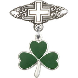 Shamrock<br>Baby Badge - 5243/0731