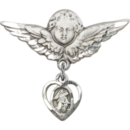 Guardian Angel<br>Baby Badge - 5407/0733