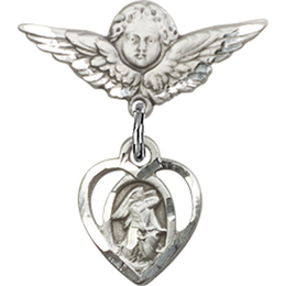 Guardian Angel<br>Baby Badge - 5407/0735