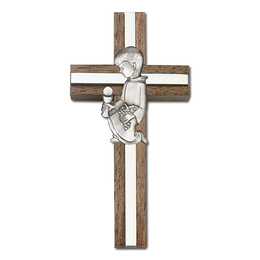 Communion Boy<br>5432 - 4 x 2<br>Wall Cross