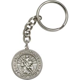 Saint Christopher<br>5589SRC - 1 1/4 x 1 1/8<br>KeyChain
