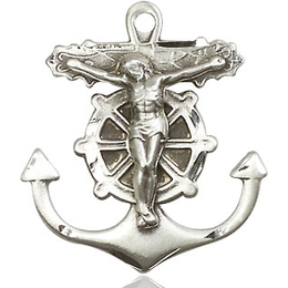 Anchor Crucifix<br>5685 - 1 x 7/8