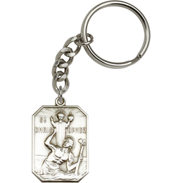 Saint Christopher<br>5849SRC - 1 1/2 x 1<br>KeyChain