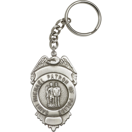 Saint Michael the Archangel<br>5892SRC - 2 3/4 x 1 1/2<br>KeyChain