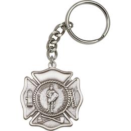 Saint Florian<br>5894SRC - 1 7/8 x 1 5/8<br>KeyChain