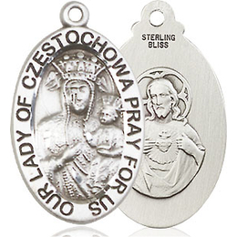 Our Lady of Czestochowa<br>6093 - 7/8 x 1/2