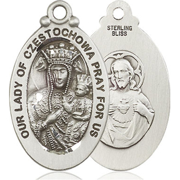 Our Lady of Czestochowa<br>6095 - 1 1/8 x 5/8