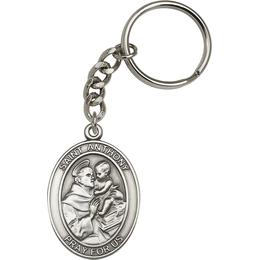 Saint Anthony<br>6704SRC - 1 7/8 x 1 1/4<br>KeyChain