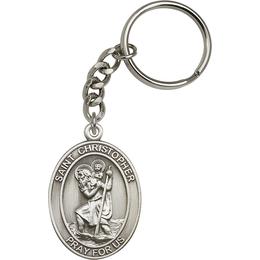 Saint Christopher<br>6722SRC - 1 7/8 x 1 1/4<br>KeyChain