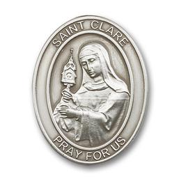Saint Clare<br>6728V - 1 5/8 x 1 1/4<br>Visor Clip