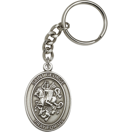 Saint George<br>6740SRC - 1 7/8 x 1 1/4<br>KeyChain