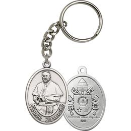 Pope Francis<br>6751SRC - 1 3/4 x 1 1/4<br>KeyChain