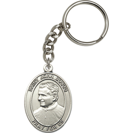 St John Bosco<br>6755SRC - 1 7/8 x 1 1/4<br>KeyChain