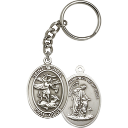 Saint Michael the Archangel<br>6776SRC - 1 7/8 x 1 1/4<br>KeyChain