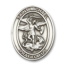 St Michael the Archangel<br>Visor Clip - 6776V