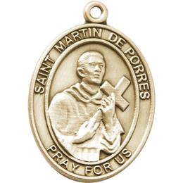 Saint Martin de Porres<br>6789SRC - 1 7/8 x 1 3/8<br>KeyChain