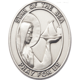Our Lady Star of the Sea<br>Visor Clip - 6801V